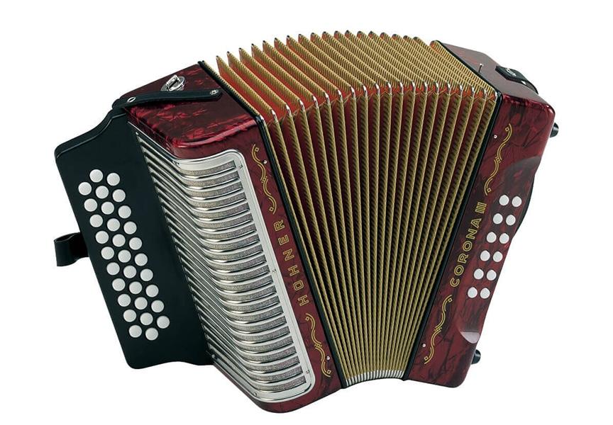 Conoce el acordeón Hohner Corona III