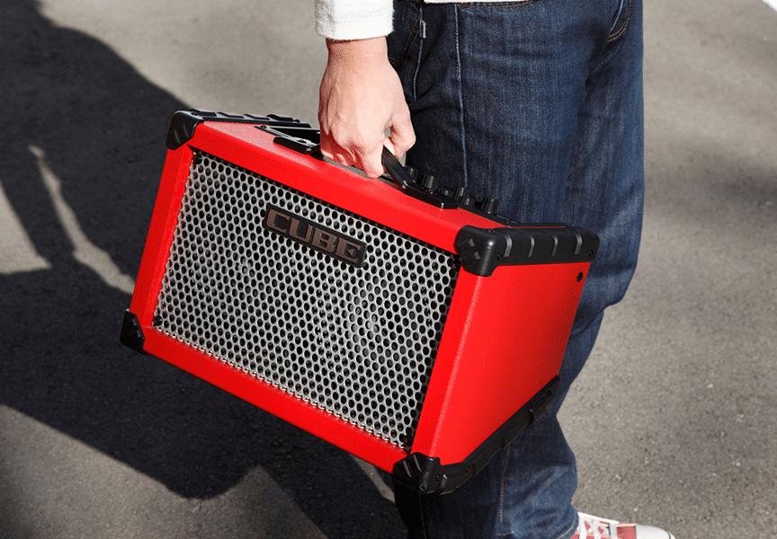 Conoce el amplificador Roland CUBE Street EX