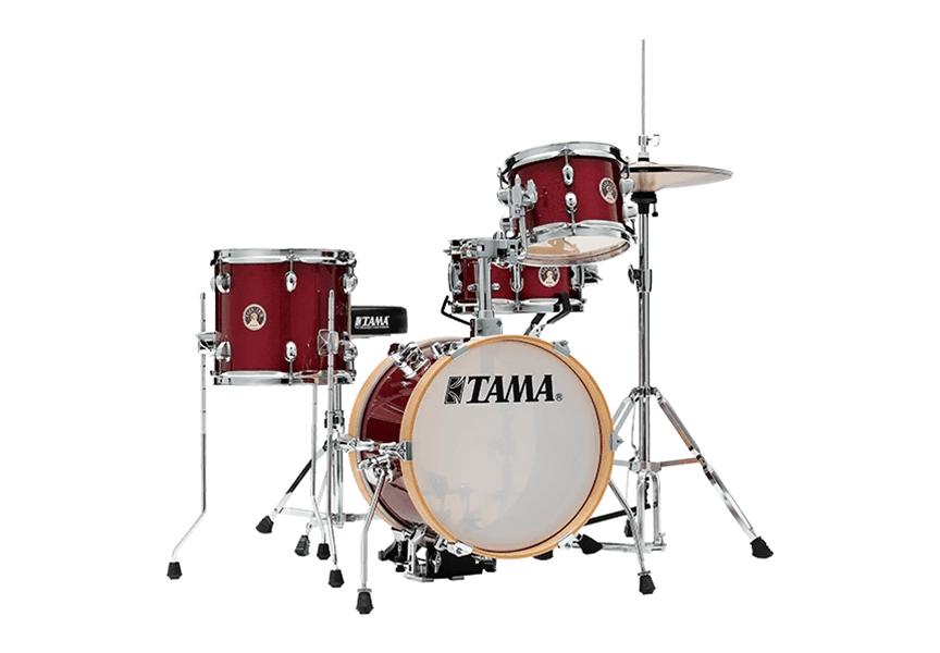 Así es el 'Club-JAM Flyer kit' de TAMA
