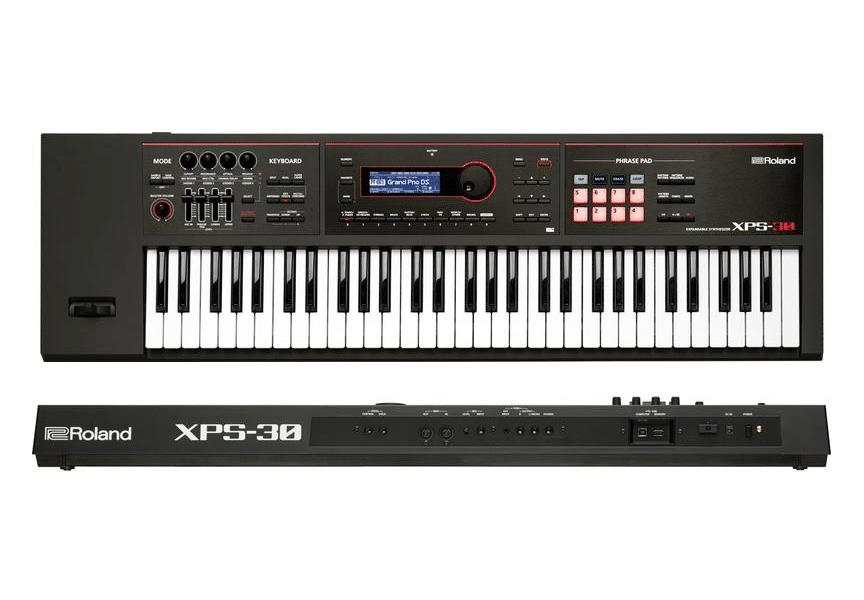 Así es el sintetizador Roland XPS-30