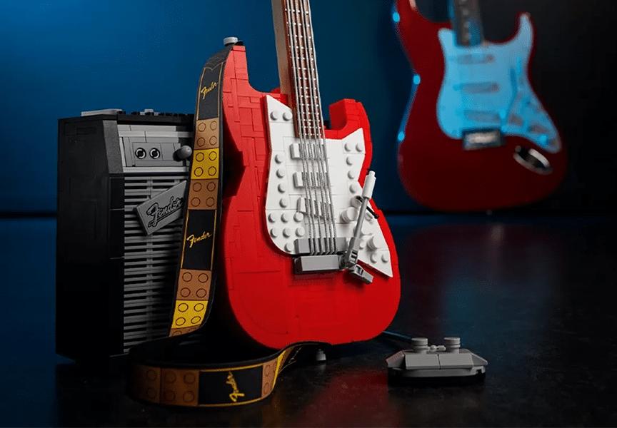 ¿Conoces el Lego de Fender Stratocaster?