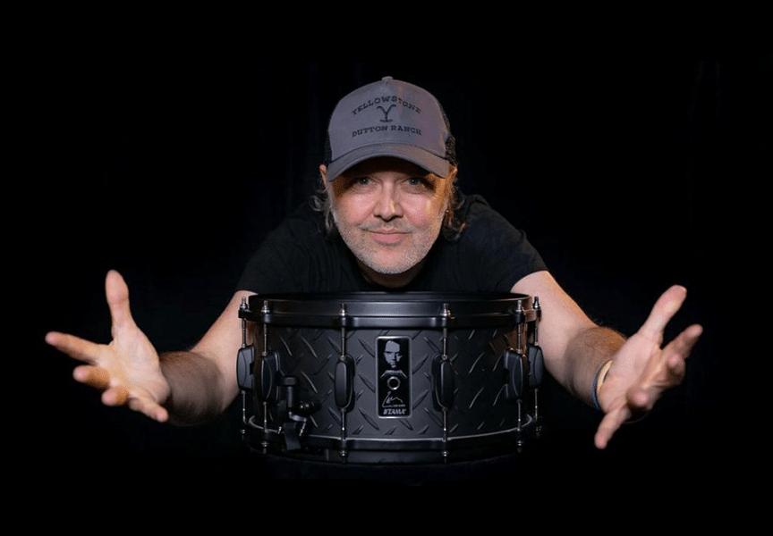 Lars Ulrich Signature Snare homenaje al Black Álbum