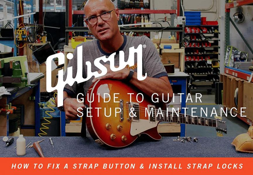 ¿Necesitas arreglar la correa de tu Gibson?